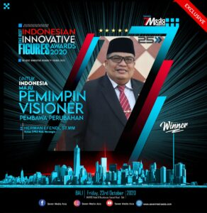 Ketua DPRD Merangin Di Anugerahi The Best Innovative Humanity Figures
